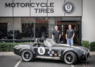 A customer visiting J's Speed Shop stopped by with this SICK Shelby AC Cobra 427