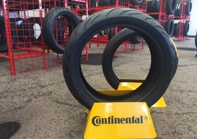 We sell more CONTI motorcycle tires than anyone in San Diego