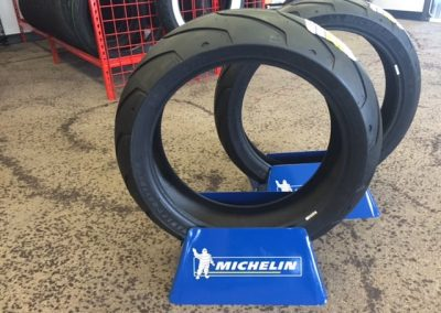 Michelin motorcycle tires in stock