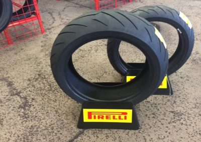 We carry the full line of Pirelli Motorcycle Tires