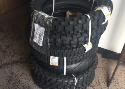 Fresh motorcycle tires daily